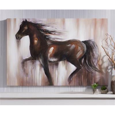 Toile canvas cheval 37 X 47 po